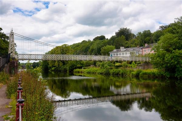 Shakey bridge in Cork