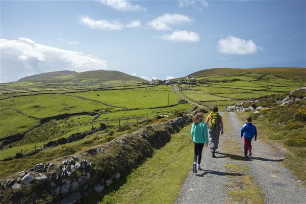 Dursey Island Ierland fietsvriendelijk en wandelparadijsje
