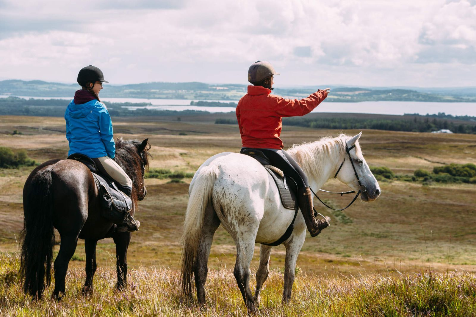 Paard rijden op vakantie met je gezin of partner