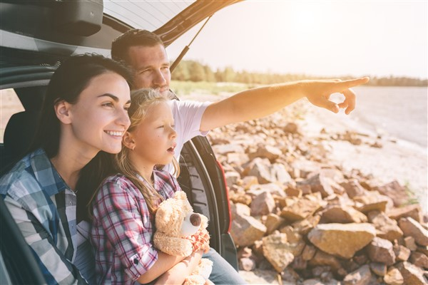 Vakantie gezinsbubble autoreis