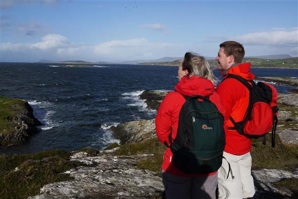 Wandelvakantie Ierland met je partner of gezin.